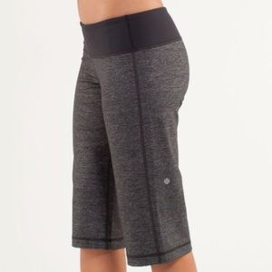 Lululemon shorts Clam Digger II Heathered
